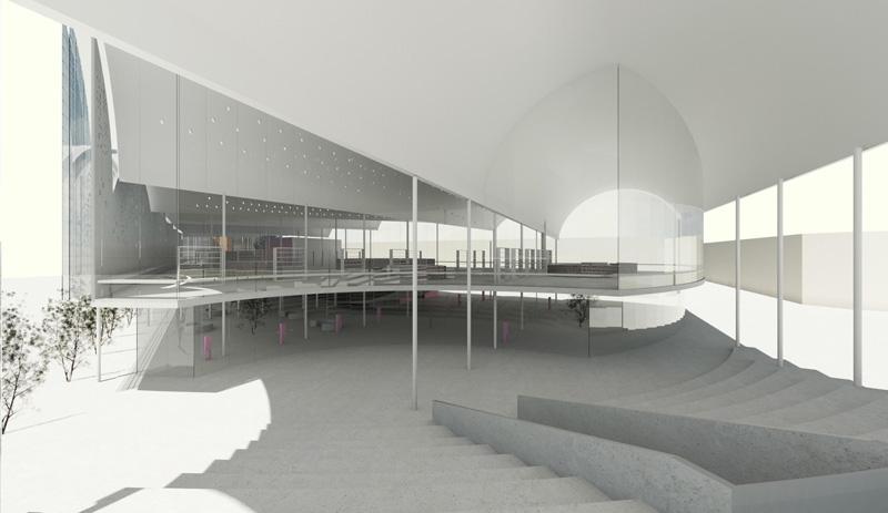 Foto de render de arquitectura del archivo UDEM